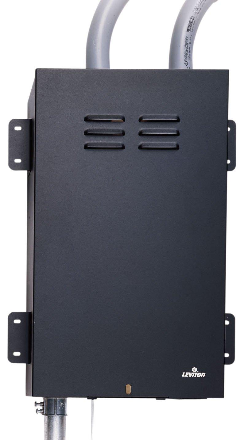 Leviton 47602-BKE Media Versatile Panel Mounting Brackets, Set Of 4, Black