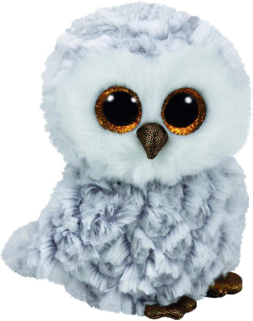 TY- Peluche, juguete, Color gris, 15 cm (United Labels Ibérica 37201TY) , color/modelo surtido