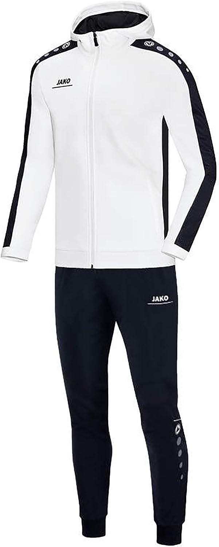 JAKO Herren Striker mit Kapuze Trainingsanzug Polyester