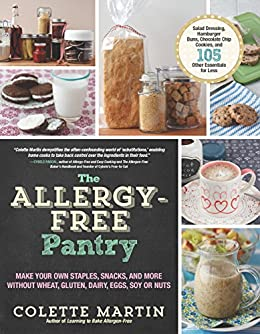 Allergy Free Pantry Staples Snacks Without ebook product image