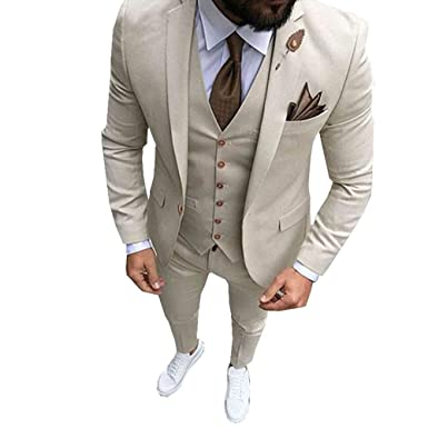 80423a830144 TBB 2018 Latest Coat Pant Designs Slim Fit 3-Piece Tuxedo Groom Wedding  Suits Custom Prom Blazer at Amazon Men's Clothing store: