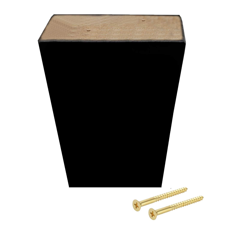 Amazon.com: ComfortStyle Legs for Furniture, Sofa Ottoman ...