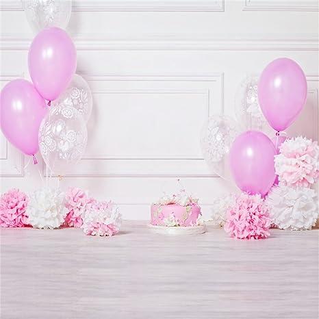 YongFoto 2x2m Fondos Fotograficos Feliz cumpleaños Cake ...