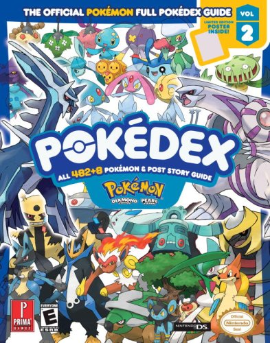 pokemon diamond pearl pokedex prima official game guide vol 2 rh amazon com Pokemon Books Scholastic Pokemon Card Book