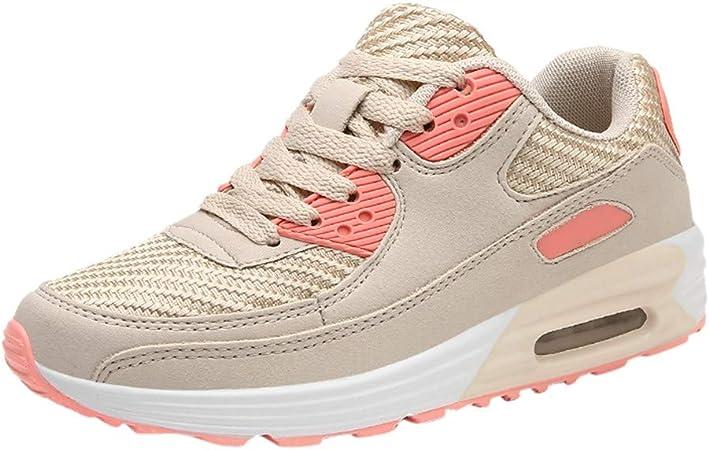 SUNNSEAN Women Sport Shoes - Zapatillas de Running para Mujer Negro Naranja 36: Amazon.es: Equipaje