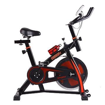 ONETWOFIT Bicicleta de Ejercicio Profesional Bicicleta de Spinning Bicicleta de Estudio para Interiores Bicicleta de Entrenamiento Ciclismo con ...