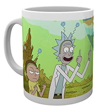 GB Eye LTD, Rick y Morty, Paz, Taza de cerámica