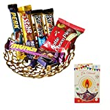 Diwali Chocolate Gift Hamper With Diwali Greeting Card , Diwali Gift 2017