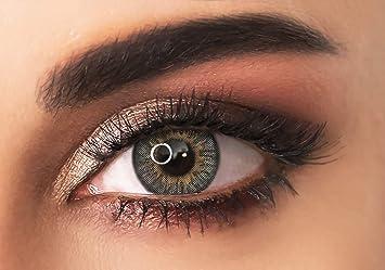 ADORE lentes de contacto de colores - color GRIS CLARO - TRI LIGHT GREY– tres tonos - de media/