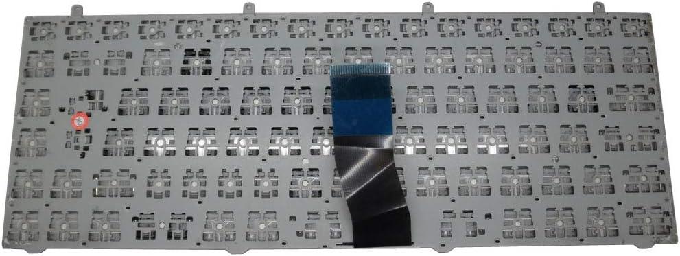 Laptop Keyboard for CLEVO MP-12R76LA-430 6-80-W5470-160-1Z Latin America LA Silver Frame