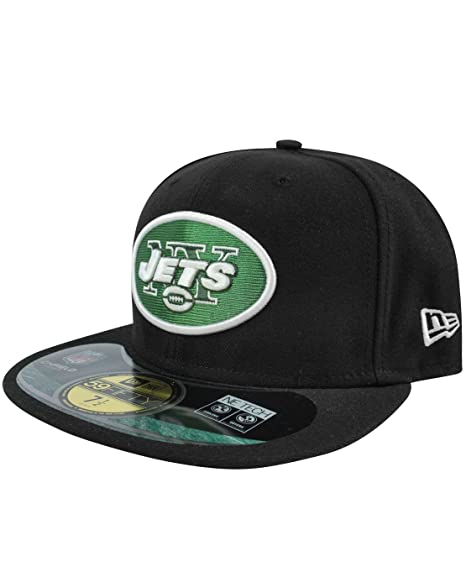 709ffb39 Amazon.com: New Era 59Fifty NFL New York Jets Cap: Clothing