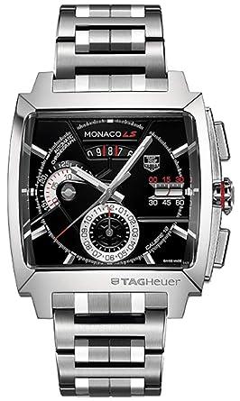76fdcd5df36 Amazon.com: TAG Heuer Monaco LS Chronograph Mens Watch CAL2110 ...