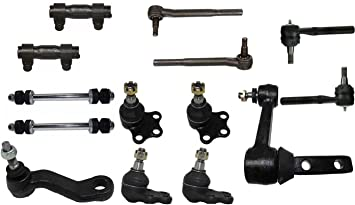 12 Pc Suspension Kit for Dodge Ram 2500 3500 RWD Models Upper//Lower Ball Joints