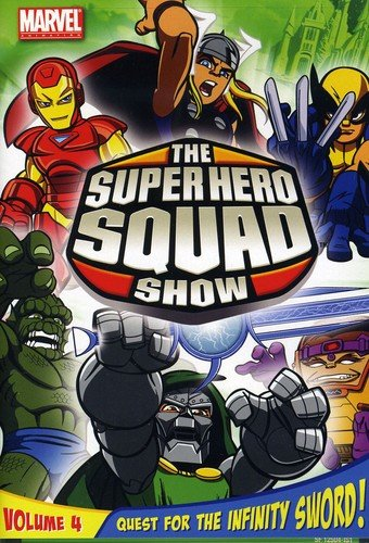 The Super Hero Squad Show: Quest For The Infinity Sword, Volume 4]()
