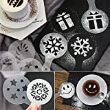 38 Coffee Decorating Stencils, Magnoloran Coffee
