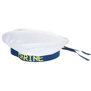 Générique Bonnet Béret marin Marine nationale Bachi Déguisement Fête