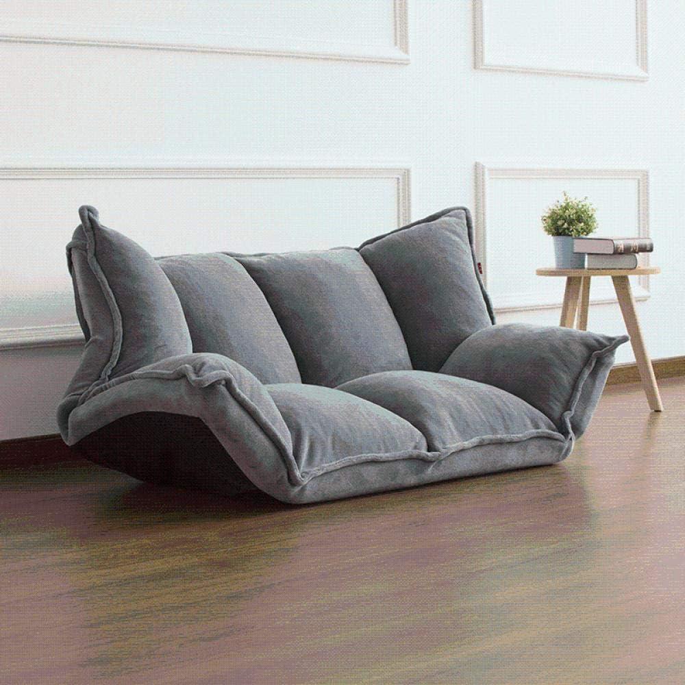 Mobilier de sol inclinable japonais futon paresseux canapé-lit