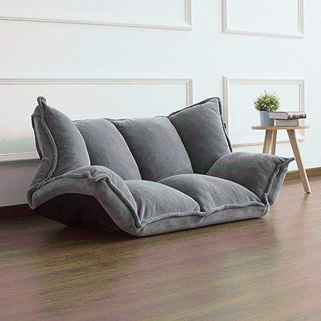 ZZSF Muebles de Piso reclinable Futón japonés Sofá Perezoso ...
