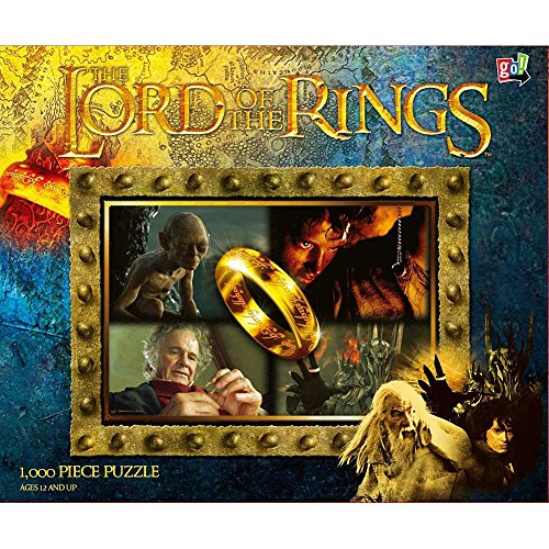 Lord Rings Ringbearers 1000pc Puzzle product image
