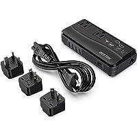 Bestek 220-volt to 110-volt Power Converter (Black)
