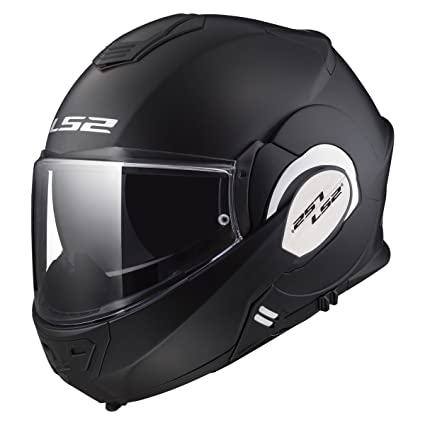 515560dc Amazon.com: LS2 Helmets Motorcycles & Powersports Helmet's Modular Valiant (Matt  Black, Large): LS2 Helmets: Automotive