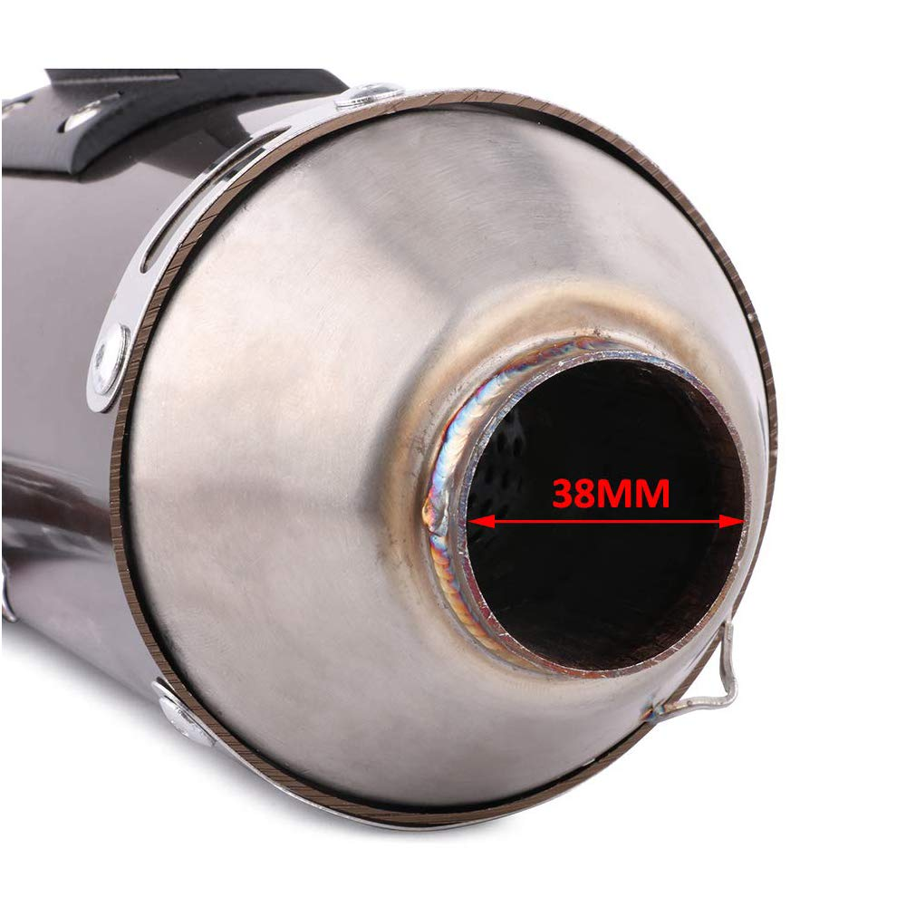 Complete Exhaust System For For Honda CRF150F CRF230F 2003 2004 2005 2006 2007 2008 2009 2010 2011 2012 2013 Full Slip On Exhaust Muffler