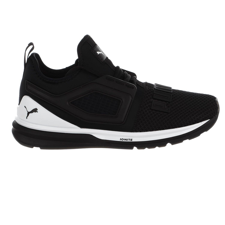 PUMA Men's Ignite Limitless Sneaker B077SWWFF9 4.5 M US|Puma Black-puma White