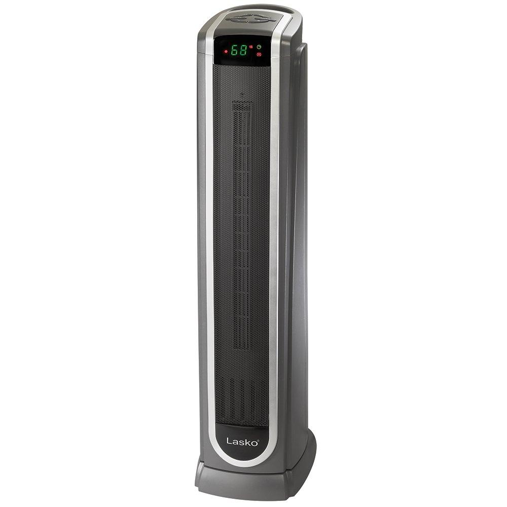 Lasko 5572 Oscillating Ceramic Tower Heater with Remote Control