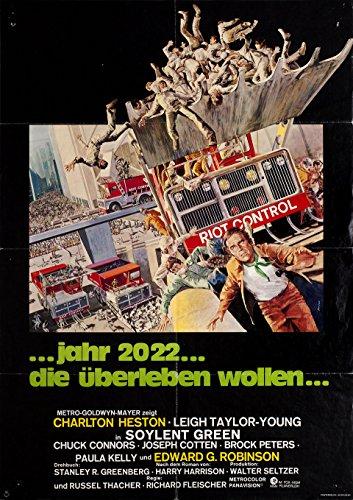 Soylent Green 1973 German A1 (Soylent Green Poster)