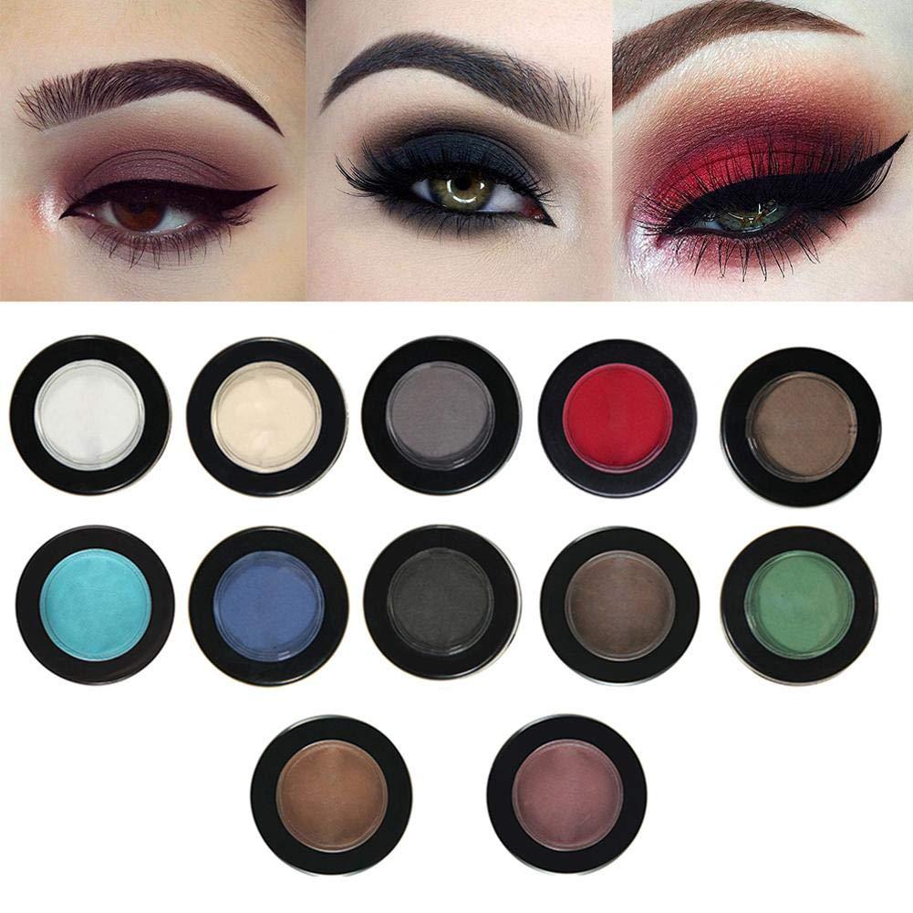 Amazon.com : Ownsig 12 Colors Long Lasting Matte Eye Shadow Glitter Waterproof Eyeshadow Palette Pigment Nude Natural Makeup 209#Snap : Beauty