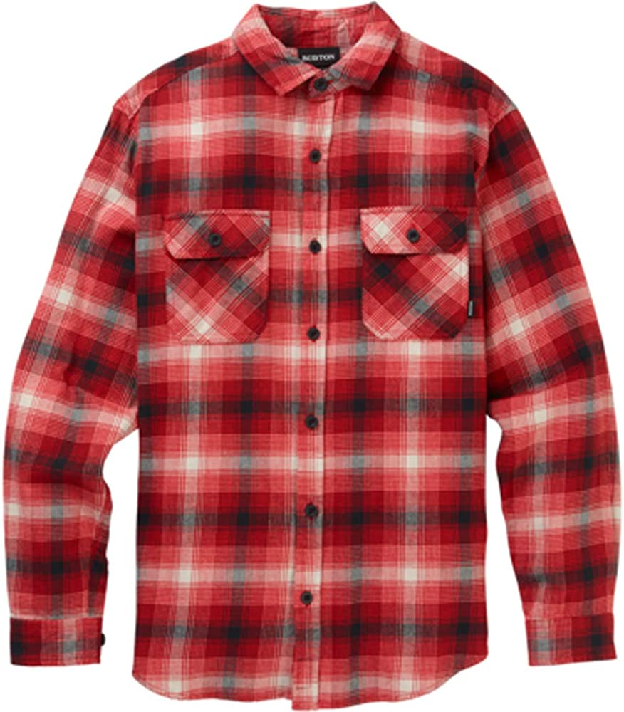 Mens Brighton Flannel Shirt Flame Bad Hombre Plaid-S: Amazon.es: Deportes y aire libre