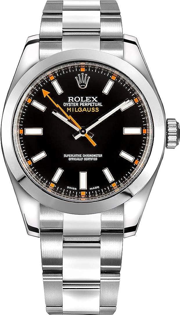 Amazon.com Rolex Milgauss Black Dial 40mm Men\u0027s Watch