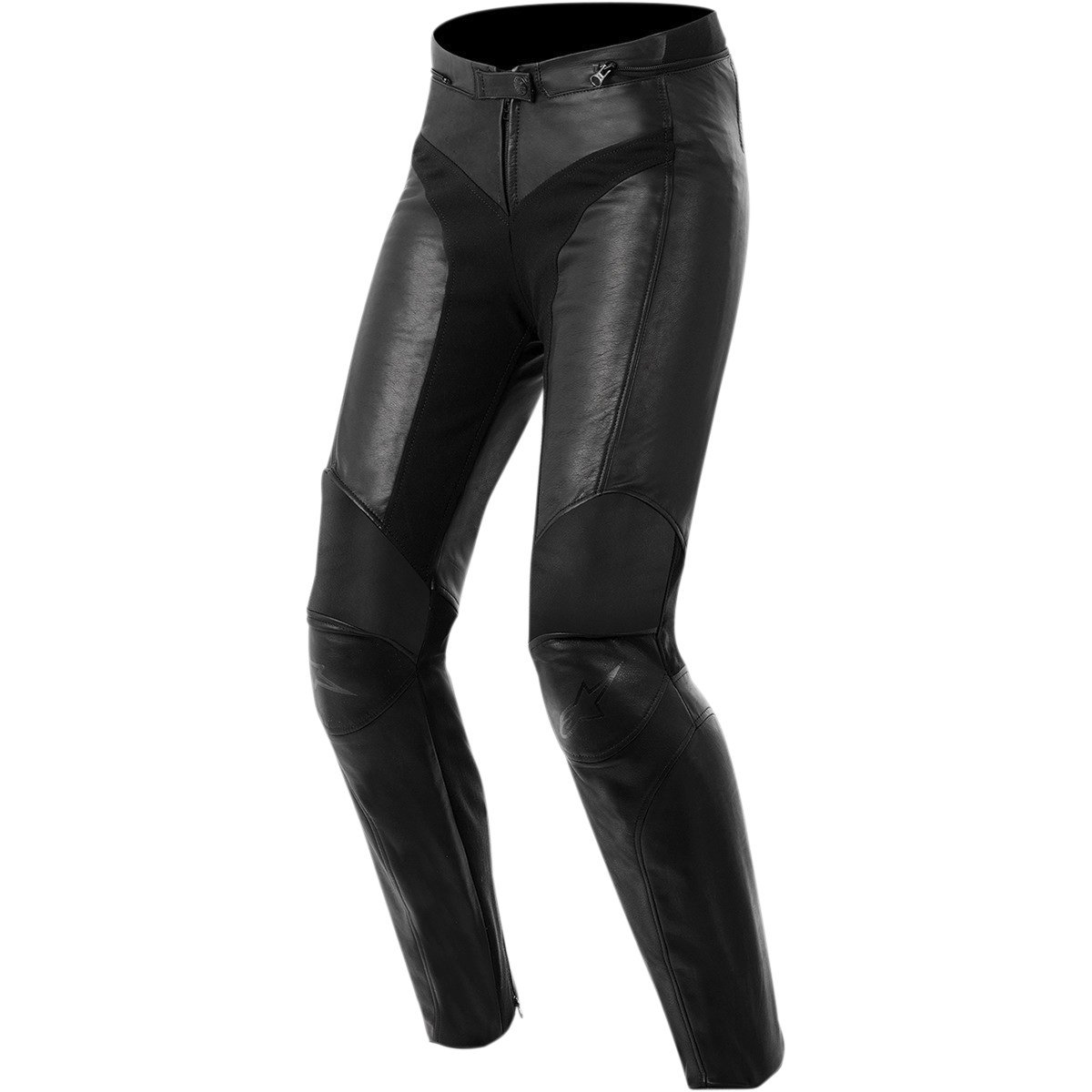 Alpinestars Vika Women's Sports Bike Motorcycle Pants - Black / Size 48