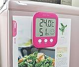DRETEC digital thermo-hygrometer ' Opsys ' Pink