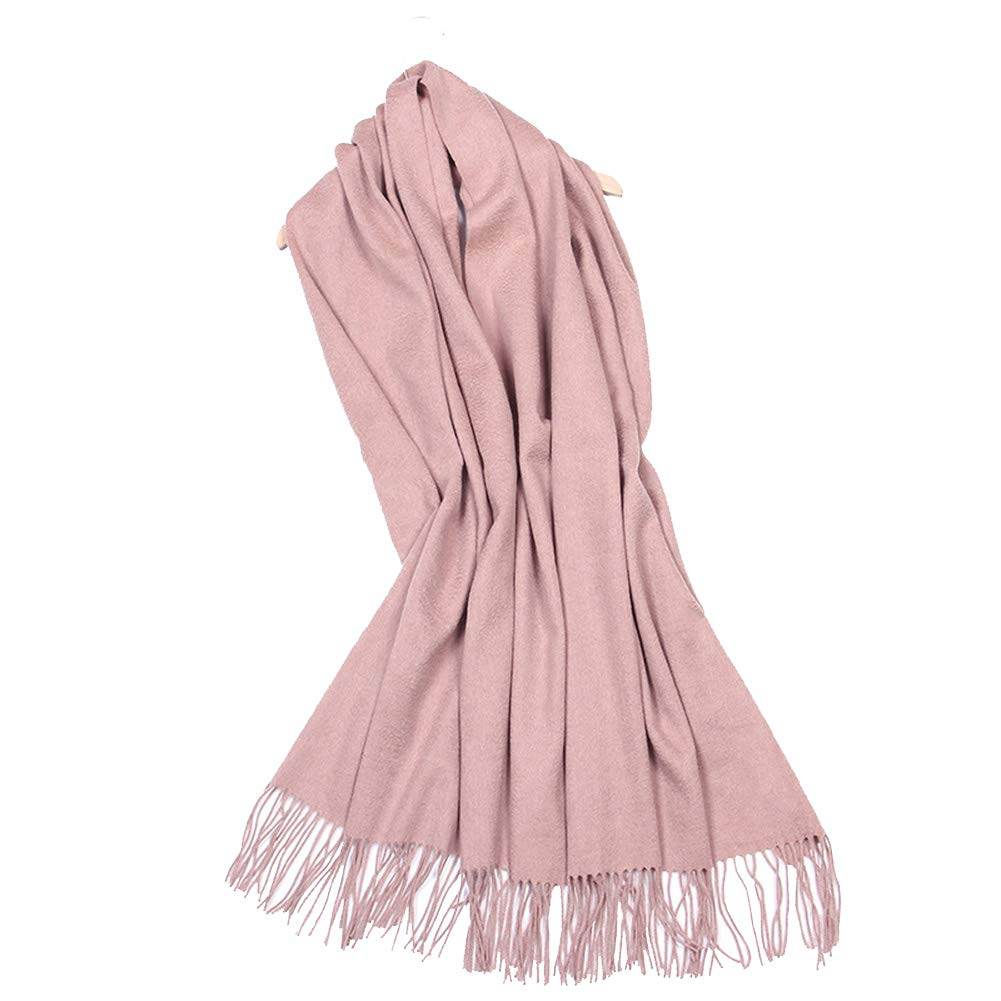 Coffee Women's New Scarf, Pure Wool Thick Shawl, Autumn and Winter Soft AllMatch Scarf, 70x200cm (color   bluee)