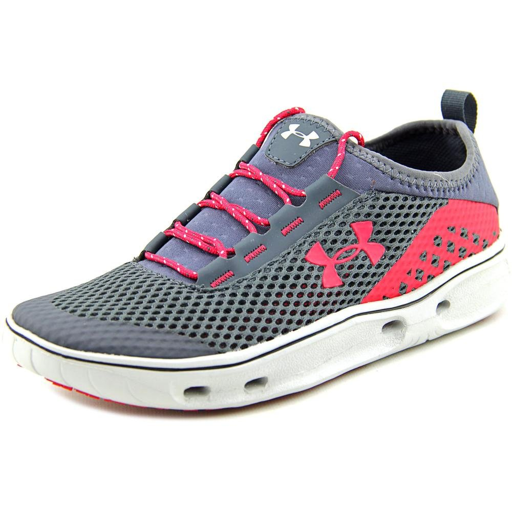 Under Armour UA Kilchis Shoe - Womens Stealth Gray / Elemental / Fury 11 by Under Armour