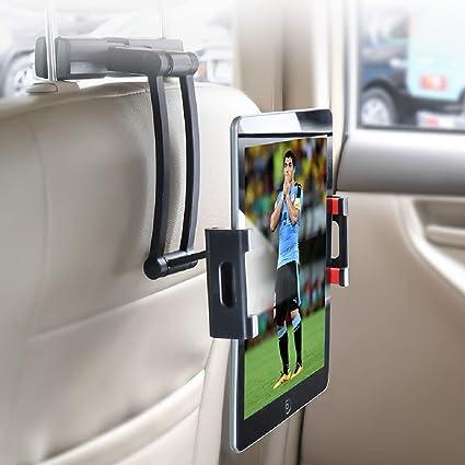 YONTEX Soporte Tablet Coche, Soporte Reposacabezas, Soporte para Tablet 5-11 Pulgadas,