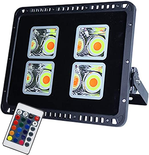 XEX-C Foco LED Proyector Colores, Focos IP66RGB Impermeables For ...
