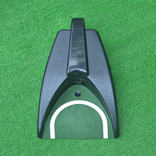 Portable Golf Ball Kick Back Automatic Putters Return Device Practicing Putters Gravity Induction Putters