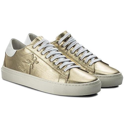 it Pelle In Laminata 2v7959 Borse Pepe 39 E Scarpe Sneakers Amazon Patrizia Tg qEWnztx