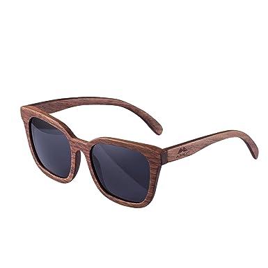 Design Echtholz Bambus UV-Schutz Unisex-Sonnenbrille - Versandkostenfrei MPP4Rl1q