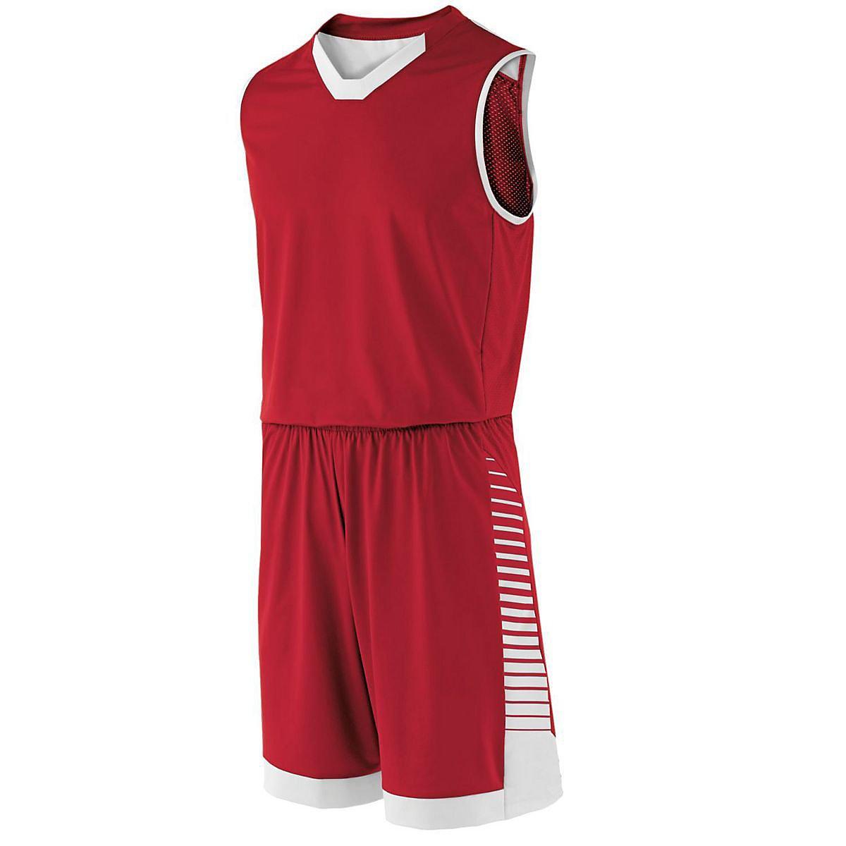 Boys' Arc Jersey Holloway Sportswear L Scarlet/White