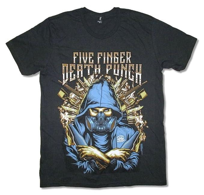 Amazon.com: Five Finger Death Punch Ninja Máscara De Gas ...