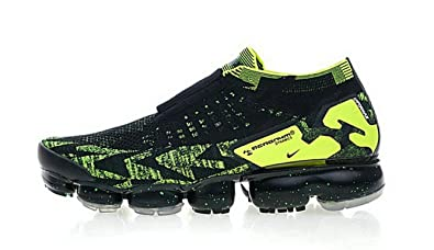 check out 2d34b df198 Image Unavailable. Image not available for. Colour TOPGND Acronym x Air  Vapormax Moc 2 Black Volt Running Shoes Mens