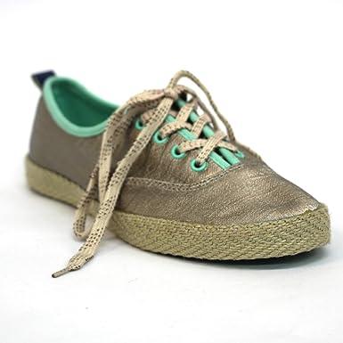 268fba57136f Juicy Couture Beautiful Metallic Sneakers for Women  Amazon.co.uk ...