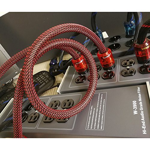 WAudio Hi-End Hifi Audio AC Power Cable Power Cord US Plug - 3.3FT (1M) by WAudio (Image #6)