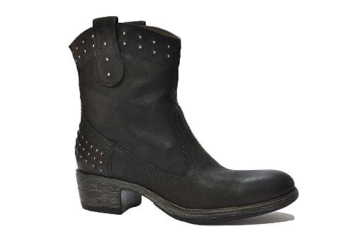 NERO GIARDINI Tronchetti scarpe donna nero 9190 mod. A309190D