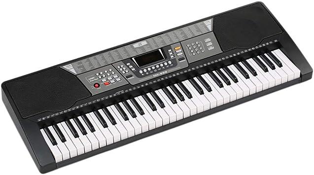 HM2 Piano electrónico de 61 Teclas, 100 timbres / 100 ritmos ...