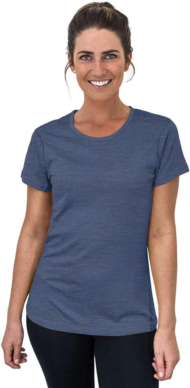 WoolX Addie - Soft Lightweight Merino Wool Tee- Eliminates Odor & Sweat