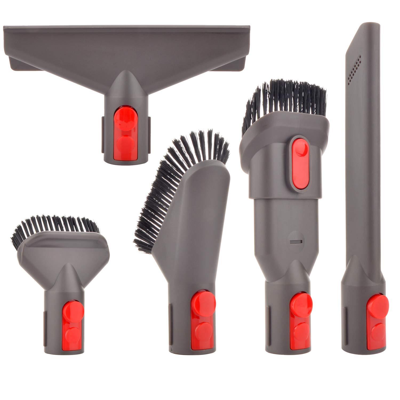 WEILE Kit de Accesorios de Cepillo Boquilla Repuesto para Dyson V7 V8 V10 SV10 SV11 Aspirador (5 en 1): Amazon.es: Hogar